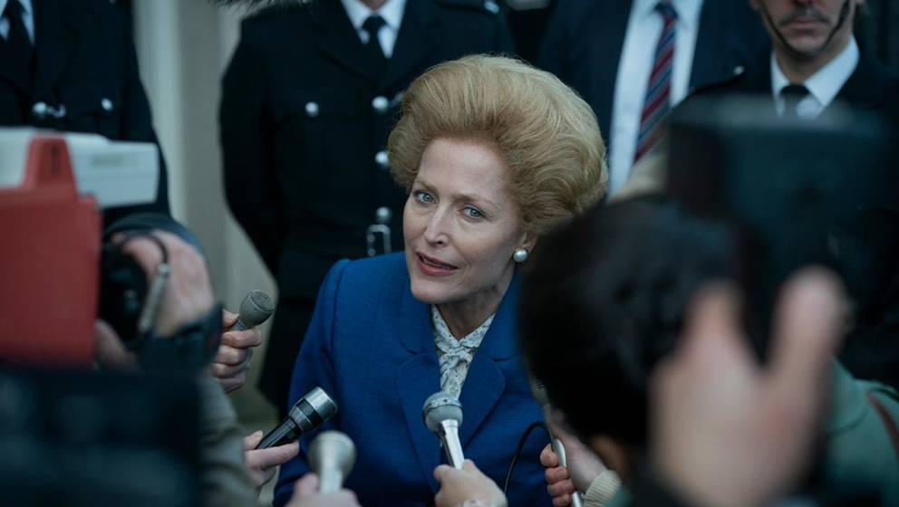 "Gillian Anderson in der vierten Staffel von ""The Crown"""