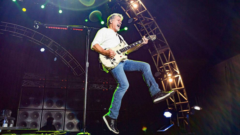 Eddie Van Halen hier live in Chula Vista, Kalifornien, 2015