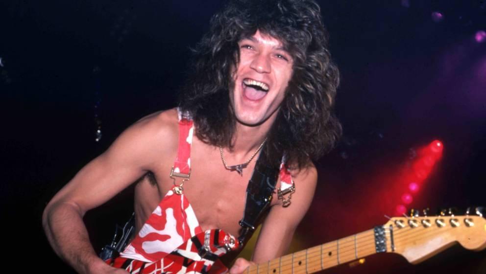 Eddie Van Halen bei einem Konzert im Jahr 1982.
