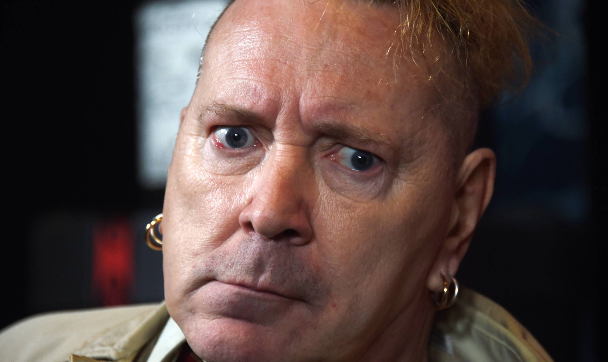 Johnny Rotten alias John Lydon ist seit 2013 US-Staatsbürger