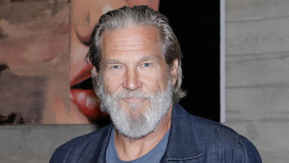 Jeff Bridges, wenige Monate vor seiner schweren Diagnose