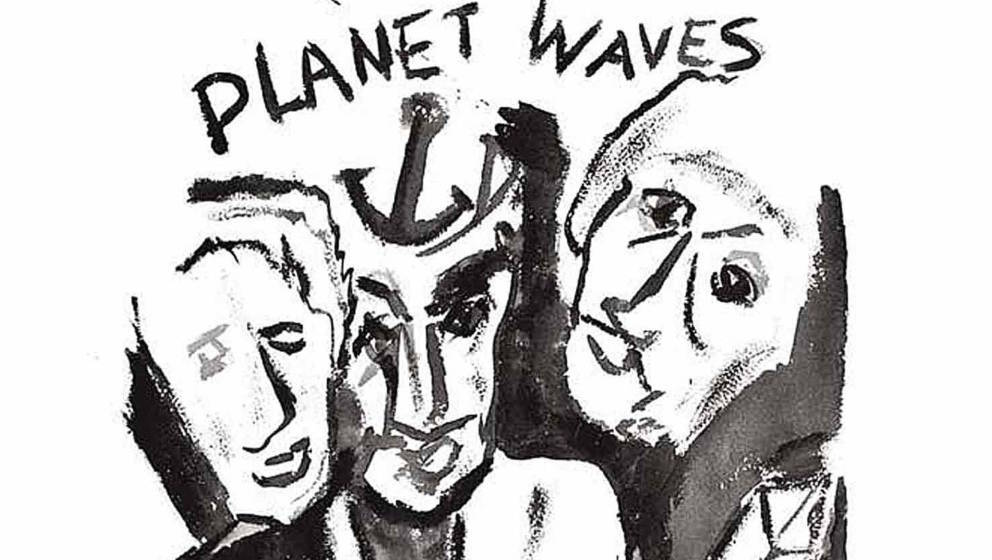 "Cover von Bob Dylans ""Planet Waves"""