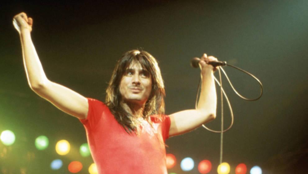 Steve Perry, hier bei einer Performance mit seiner Band Journey im Jahr 1980