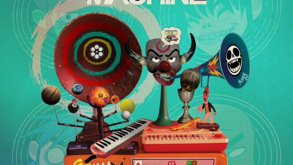 """Cover-Artwork von Gorillaz' """"Song Machine…"""""""