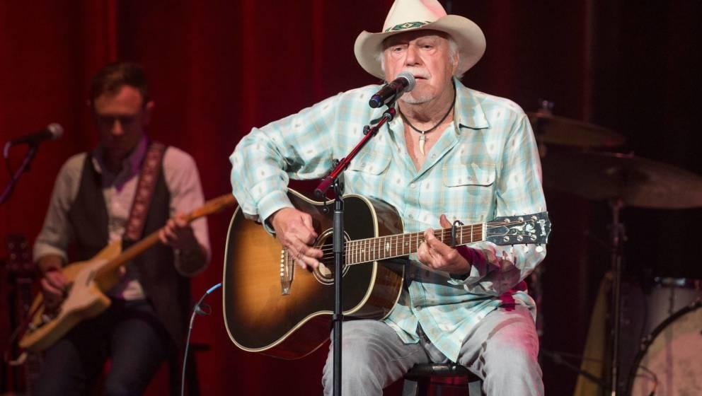 Jerry Jeff Walker bei einem Auftritt 2016