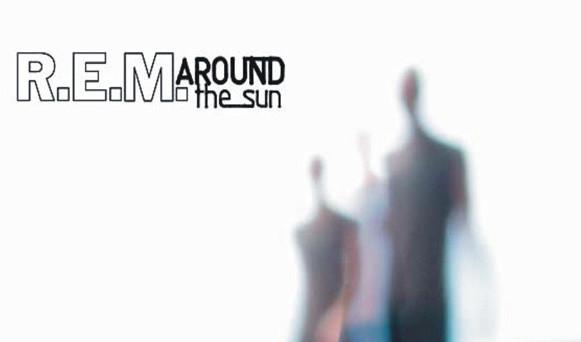 "Das Cover-Artwork zu ""Around The Sun"" von R.E.M."