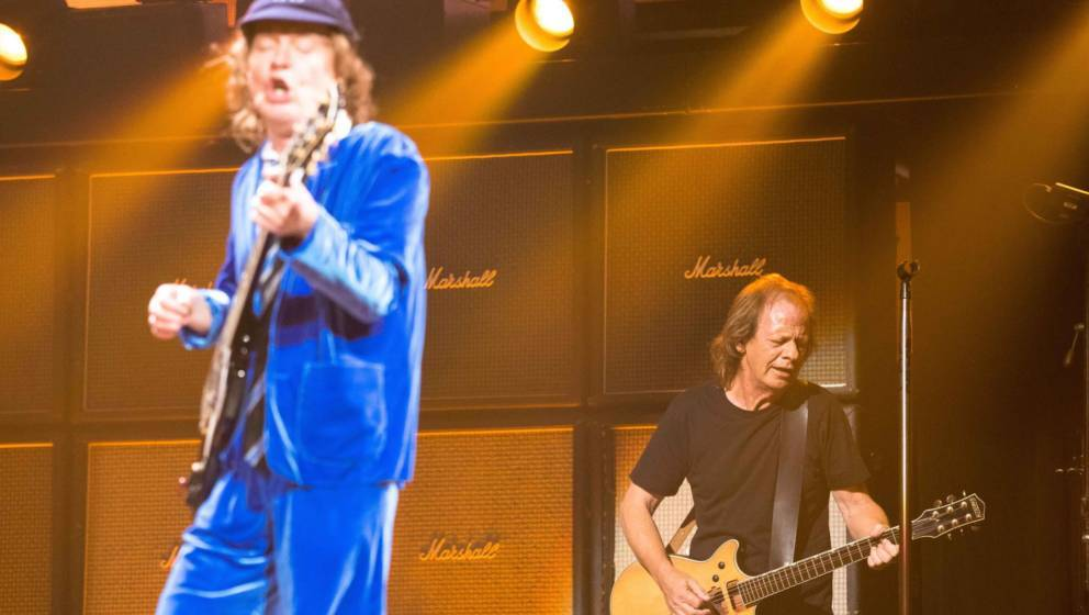 AC/DC: Angus Young und Stevie Young