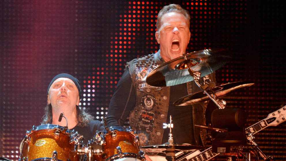 Metallica - James Hetfield und Lars Ulrich