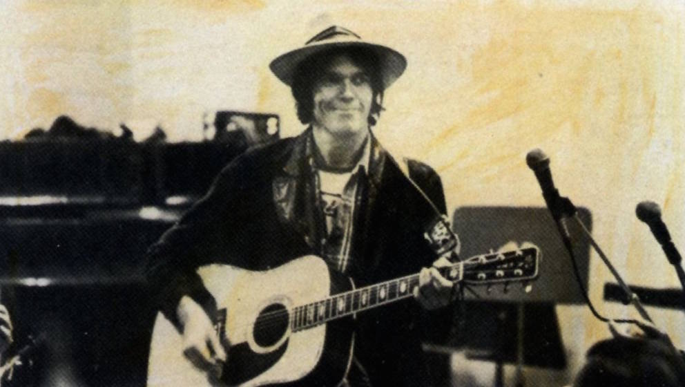 """Cover-Artwork von Neil Youngs """"Comes A Time"""""""