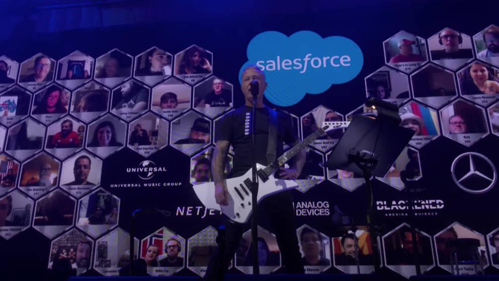 """Metallica und ihr """"Helping Hands""""-Livestream"""