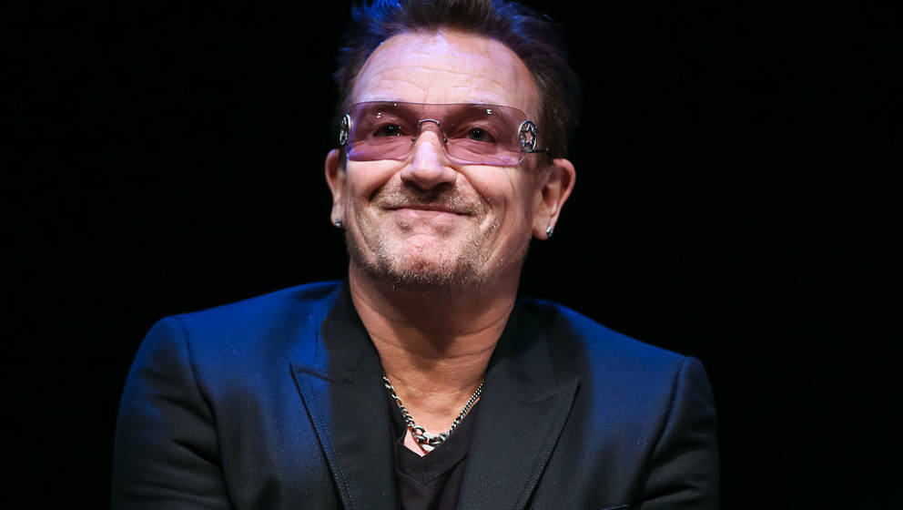 PALM SPRINGS, CA - JANUARY 05:  Musician Bono attends the 25th annual Palm Springs Film Festival - Talking Pictures on Januar