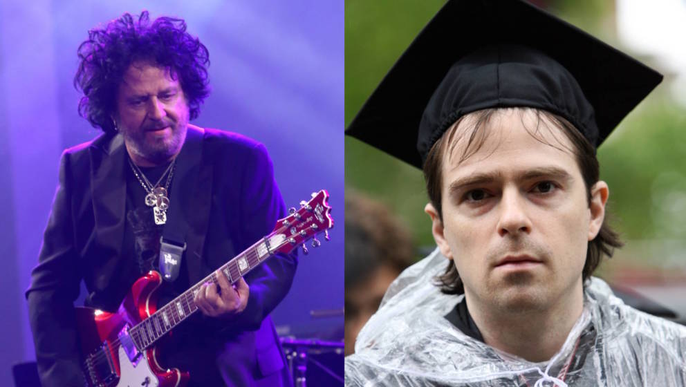 Steve Lukather (Toto) und Rivers Cuomo (Weezer)