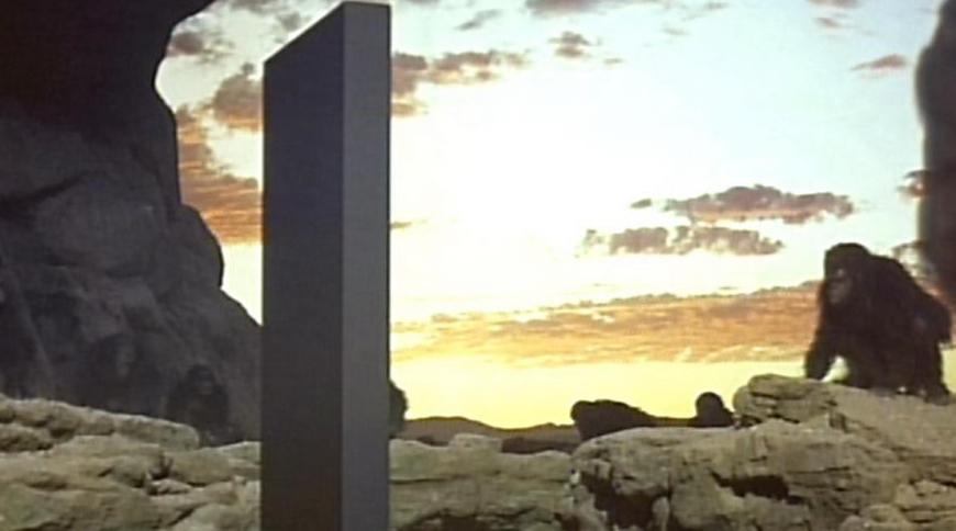 """Der legendäre Monolith aus """"2001 - Odyssee im Weltraum"""""""