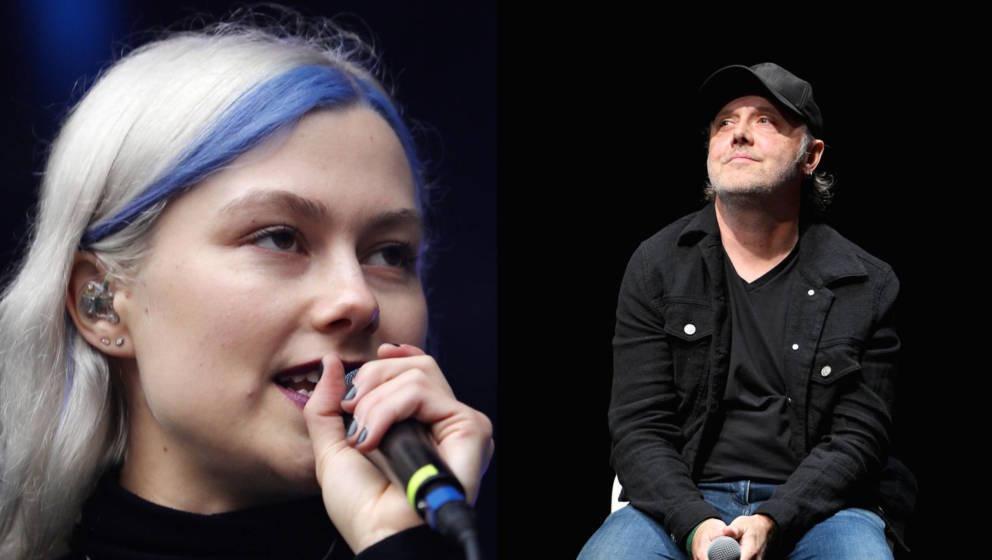 Phoebe Bridgers und Lars Ulrich im großen gemeinsamen RS-Talk