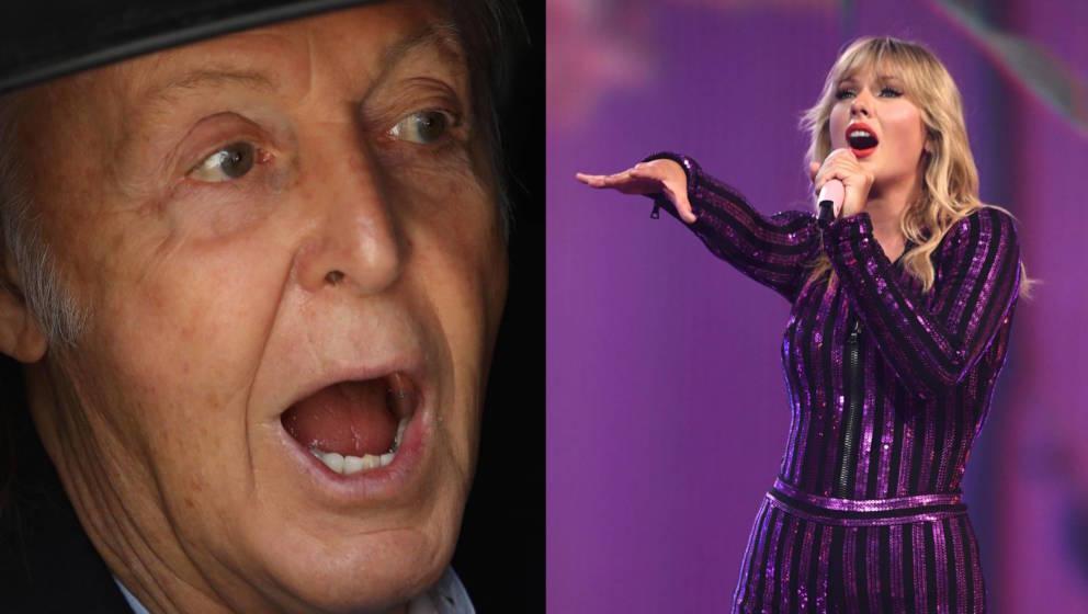 Nehmen Rücksicht aufeinander: Paul McCartney und Taylor Swift