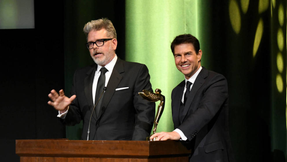 Tom Cruise und Christopher McQuarrie