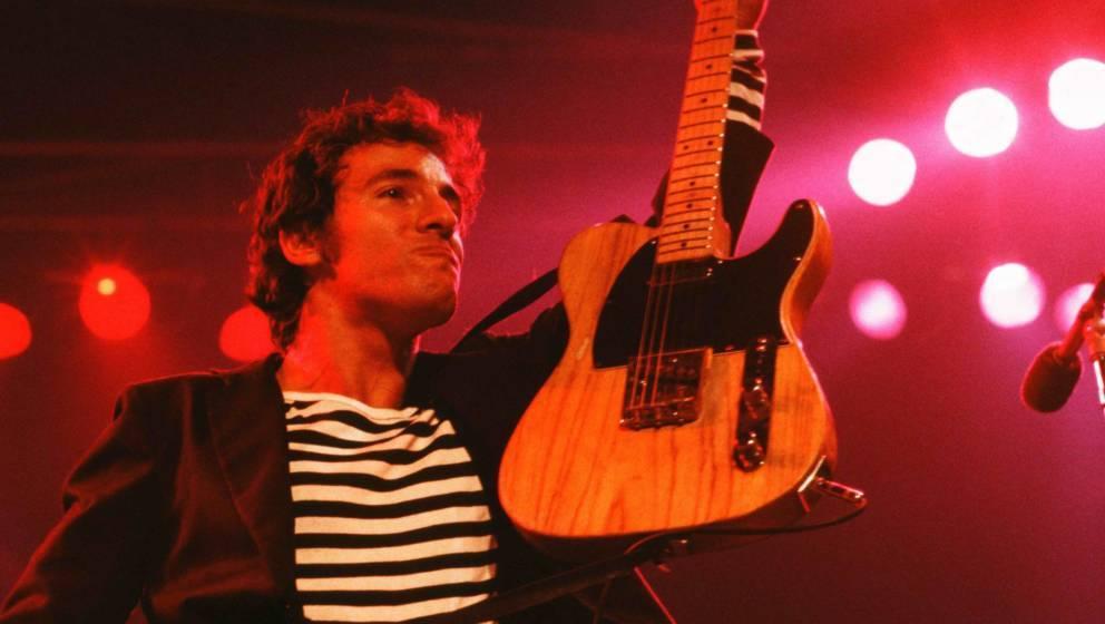 """Bruce Springsteen live im Capital Centre in Largo, Maryland während der """"Darkness""""-Tour 1978"""