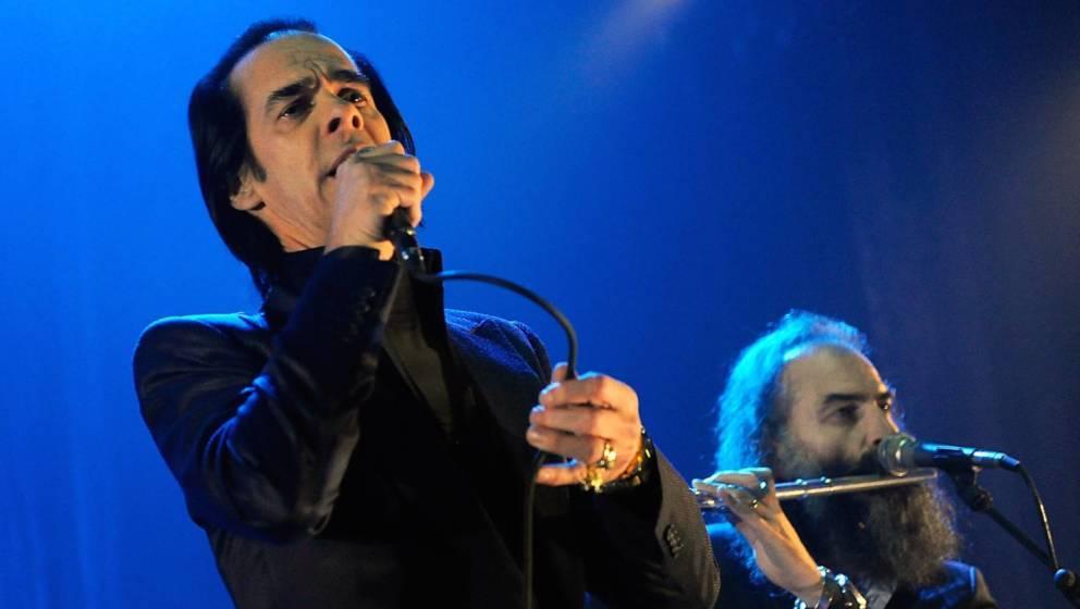 Nick Cave - hier mit Warren Ellis live