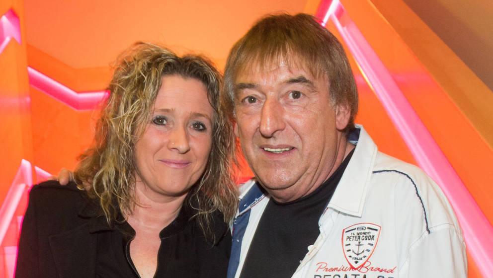Schlager-Sängerin Daniela Alfinito mit ihrem Vater, dem Amigos-Sänger Bernd Ulrich