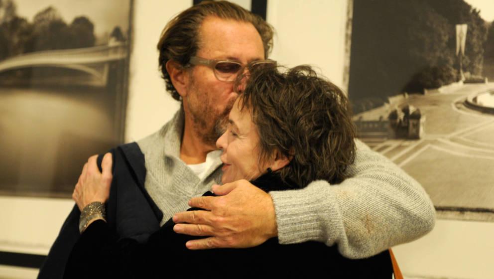 Julian Schnabel und Laurie Anderson