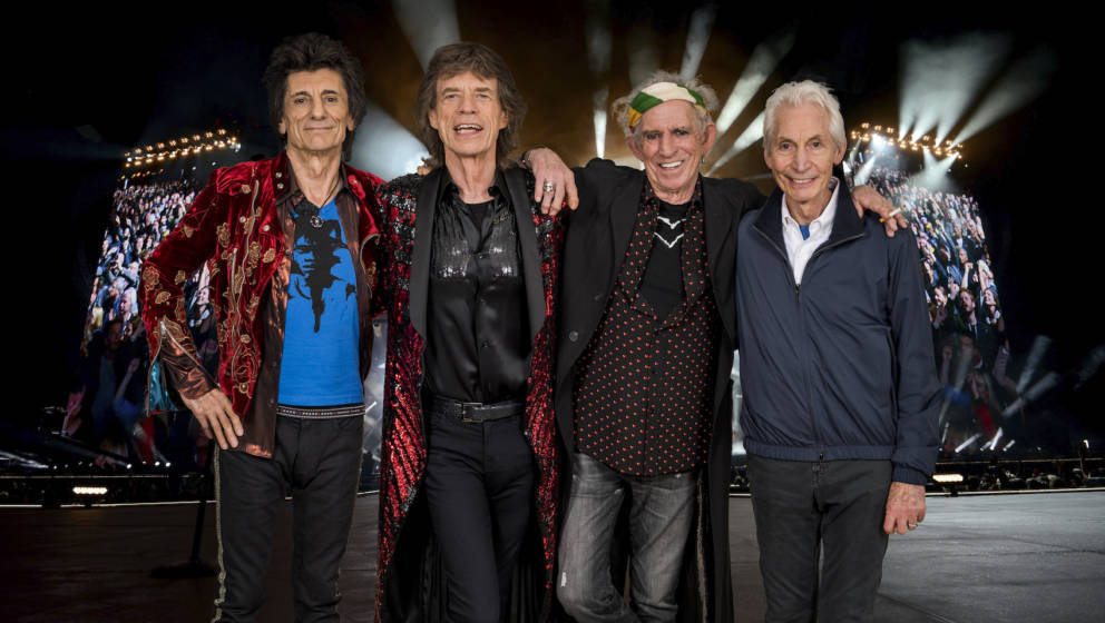 LONDON, ENGLAND - FEBRUARY 26:  An exclusive image of The Rolling Stones taken on October 25th 2017 in Paris. In conjunction