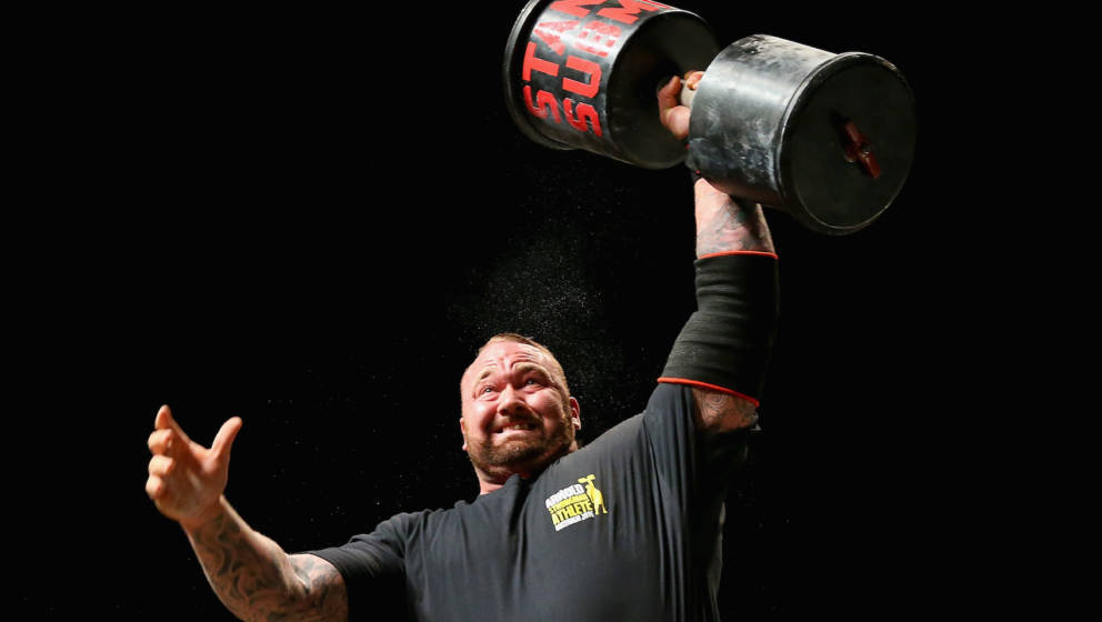 during the 2016 Arnold Classic on March 19, 2016 in Melbourne, Australia.