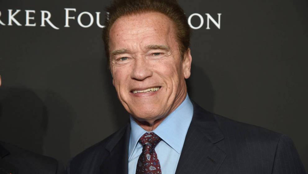 Arnold Schwarzenegger 2018 in Los Angeles.