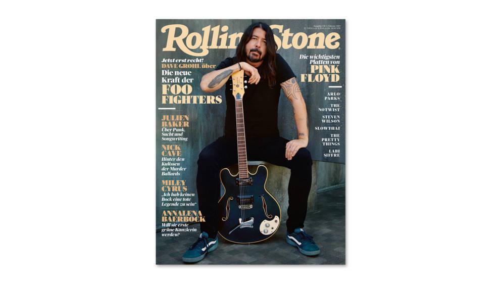 Dave Grohl von den Foo Fighters auf dem Cover der Februar-Ausgabe des ROLLING STONE