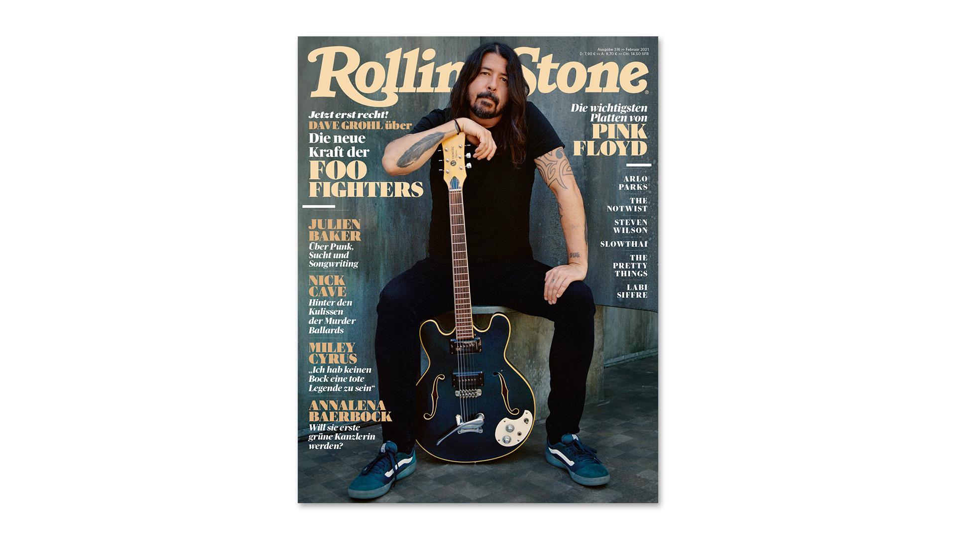 ROLLING STONE im Februar 2021 – Titelthema: Foo Fighters