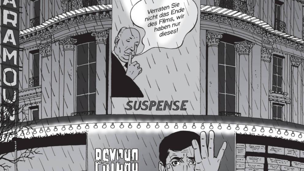 Master Of Suspense: Alfred Hitchcock als Mahner und Warner vor einem Kinobesuch