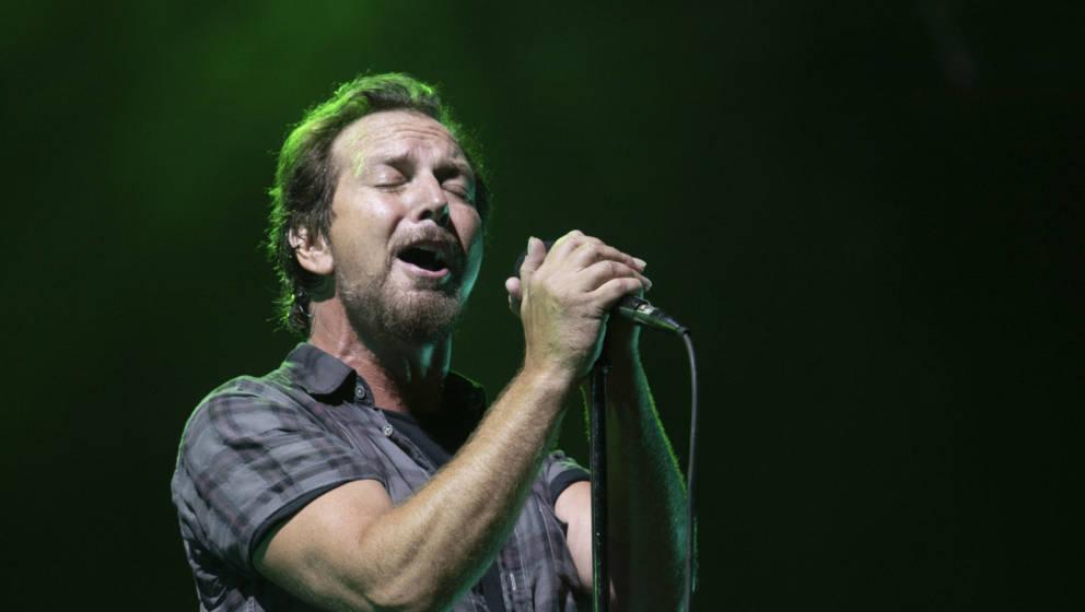 Eddie Vedder von Pearl Jam auf dem Safeco Field 2018