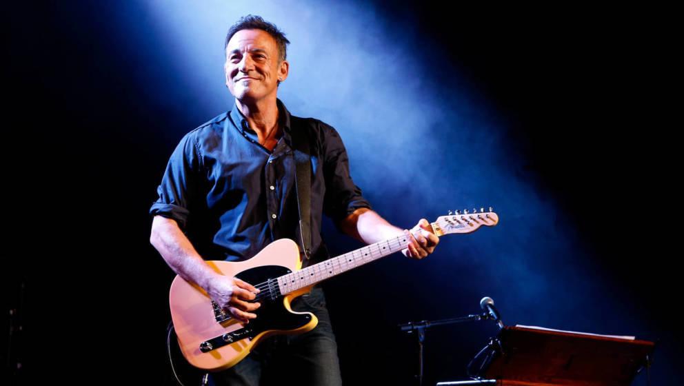 Bruce Springsteen richtet sich mit einer politischen Message an die US-amerikanischen Bürger.