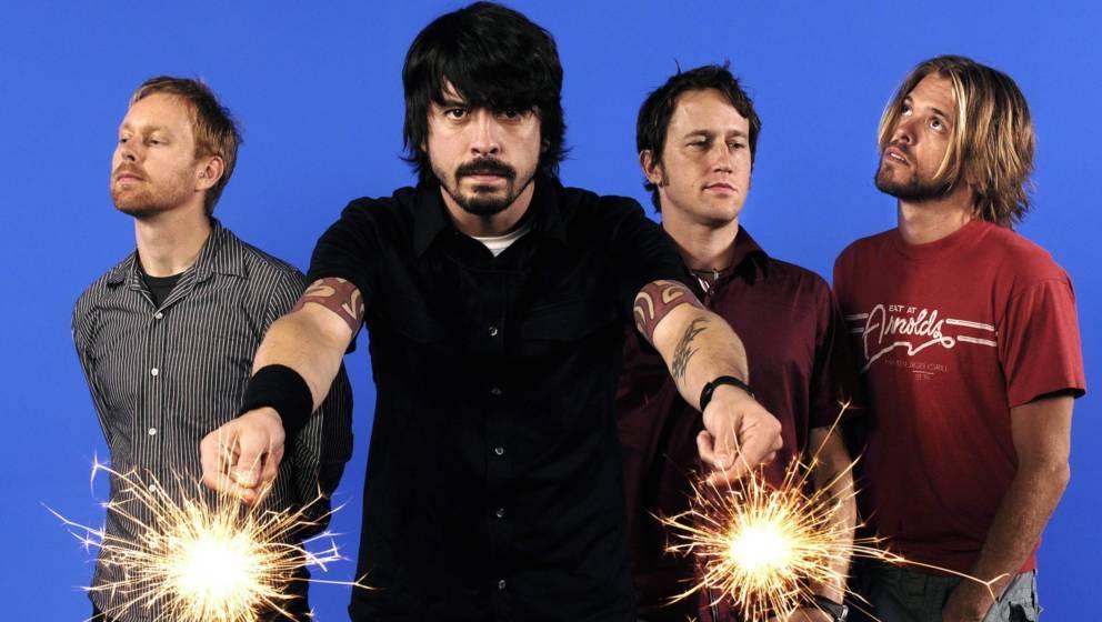 Wie die Zeit vergeht: Auch die Foo Fighters haben schon mindestens 25 Jahre seit ihrem Debüt als Band absolviert