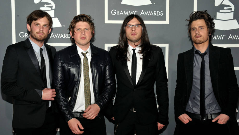 Kings of Leon 2009 bei den 51. Grammy Awards.