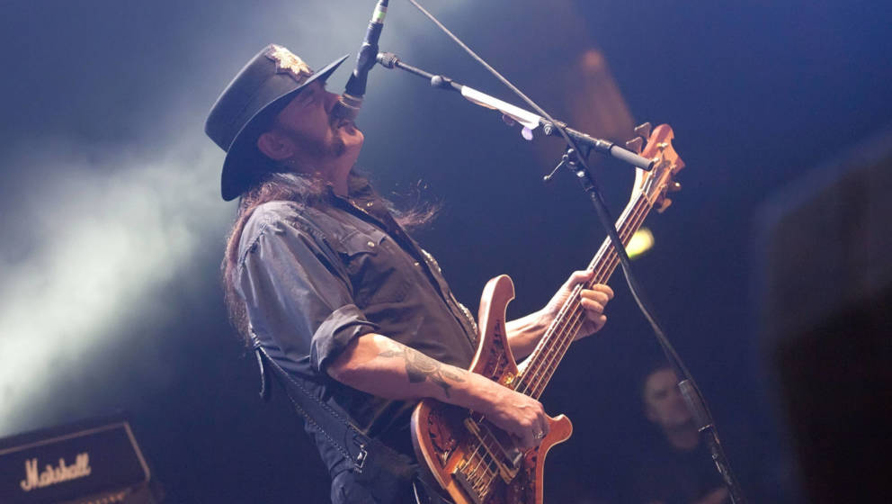 Lemmy Kilmister 2012 live in Berlin.