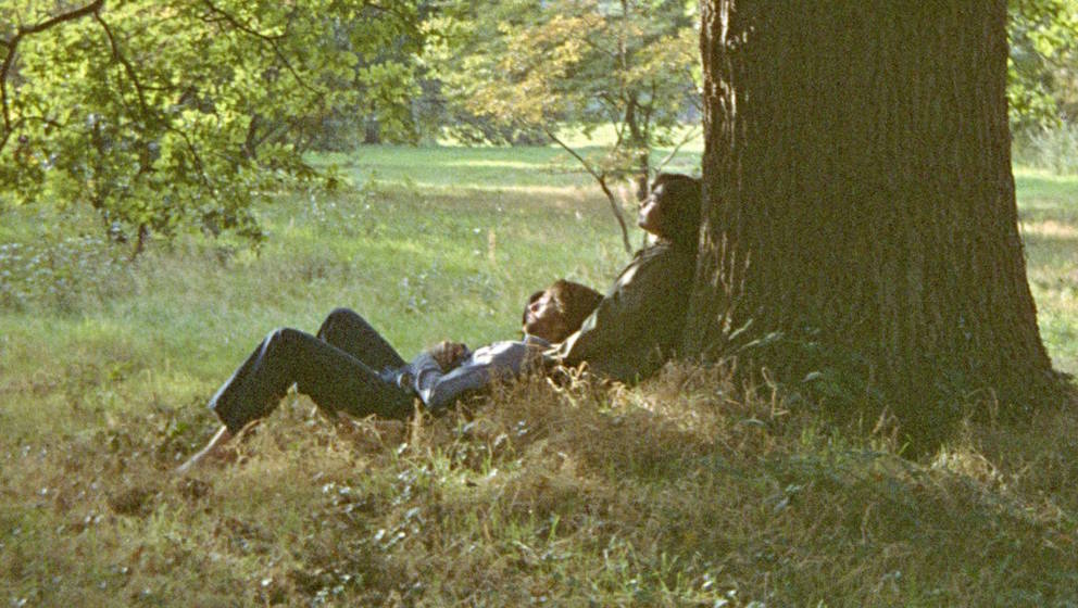 "John Lennon und Yoko Ono. Cover von ""John Lennon/Plastic Ono Band"""