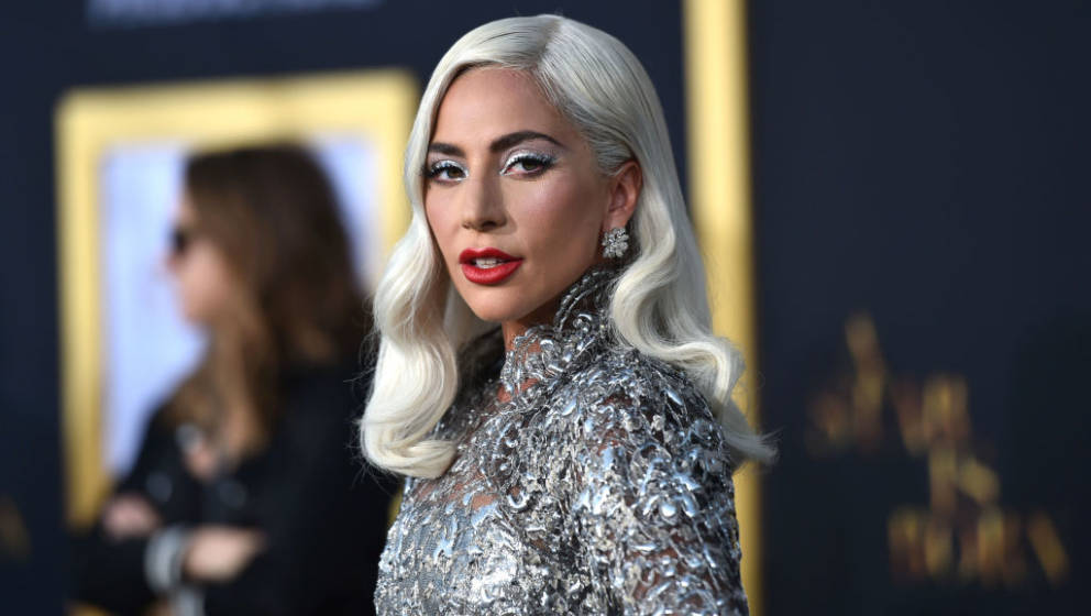 LOS ANGELES, CALIFORNIA - SEPTEMBER 24: Lady Gaga arrives at the Premiere Of Warner Bros. Pictures' 'A Star Is Born' at The S