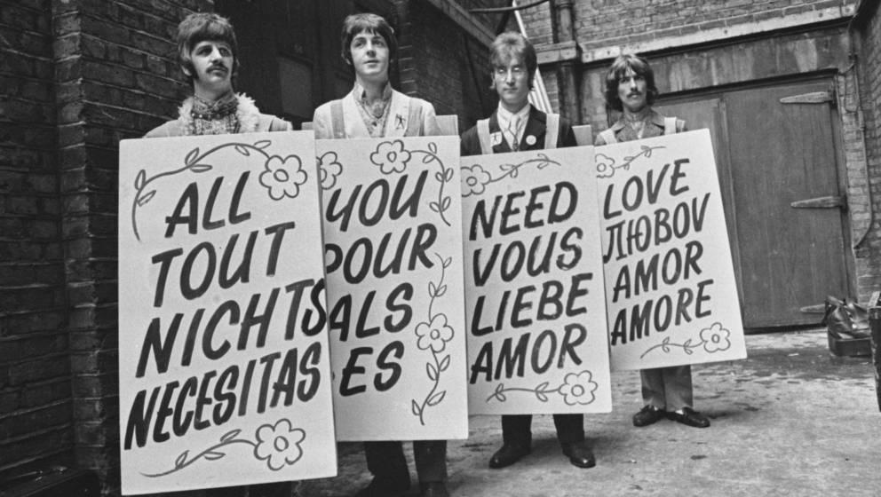 """""""All You Need Is Love"""": Etwas, das man überall auf der Welt versteht"""