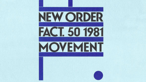"Cover von New Orders ""Movement"""