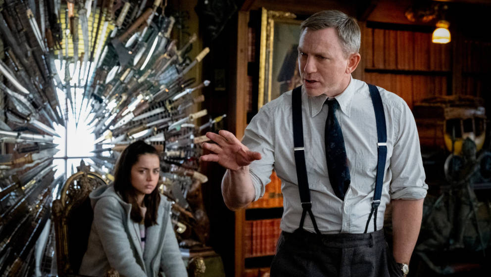 "Daniel Craig in seiner Rolle als Benoit Blanc in ""Knives Out"""