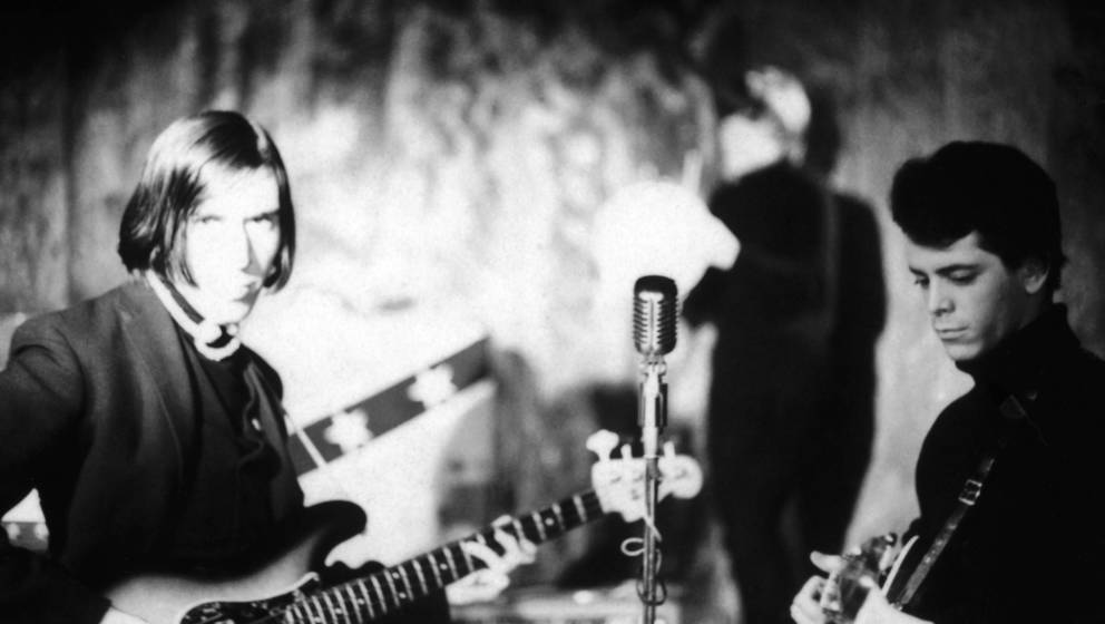 John Cale und Lou Reed von The Velvet Underground zu Beginn ihrer Karriere