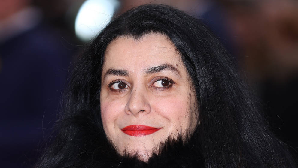 LONDON, ENGLAND - MARCH 08: Marjane Satrapi attends the 'Radioactive' UK Premiere at The Curzon Mayfair on March 08, 2020 in