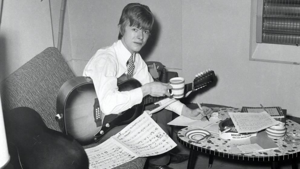 David Bowie im Jahr 1966.
