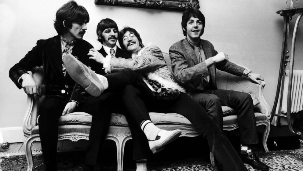 Die Beatles, anfangs noch jung und nahezu unschuldig.