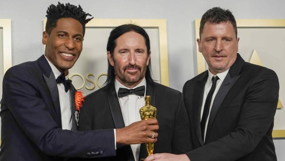"""Oscar für den """"Soul""""-Score: Jon Batiste mit Trent Reznor und Atticus Ross"""