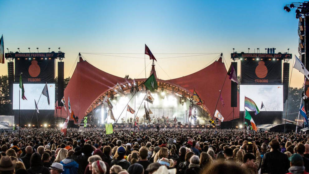 Das dänische Roskilde Festival wurde pandemiebedingt erneut ins kommende Jahr verlegt.