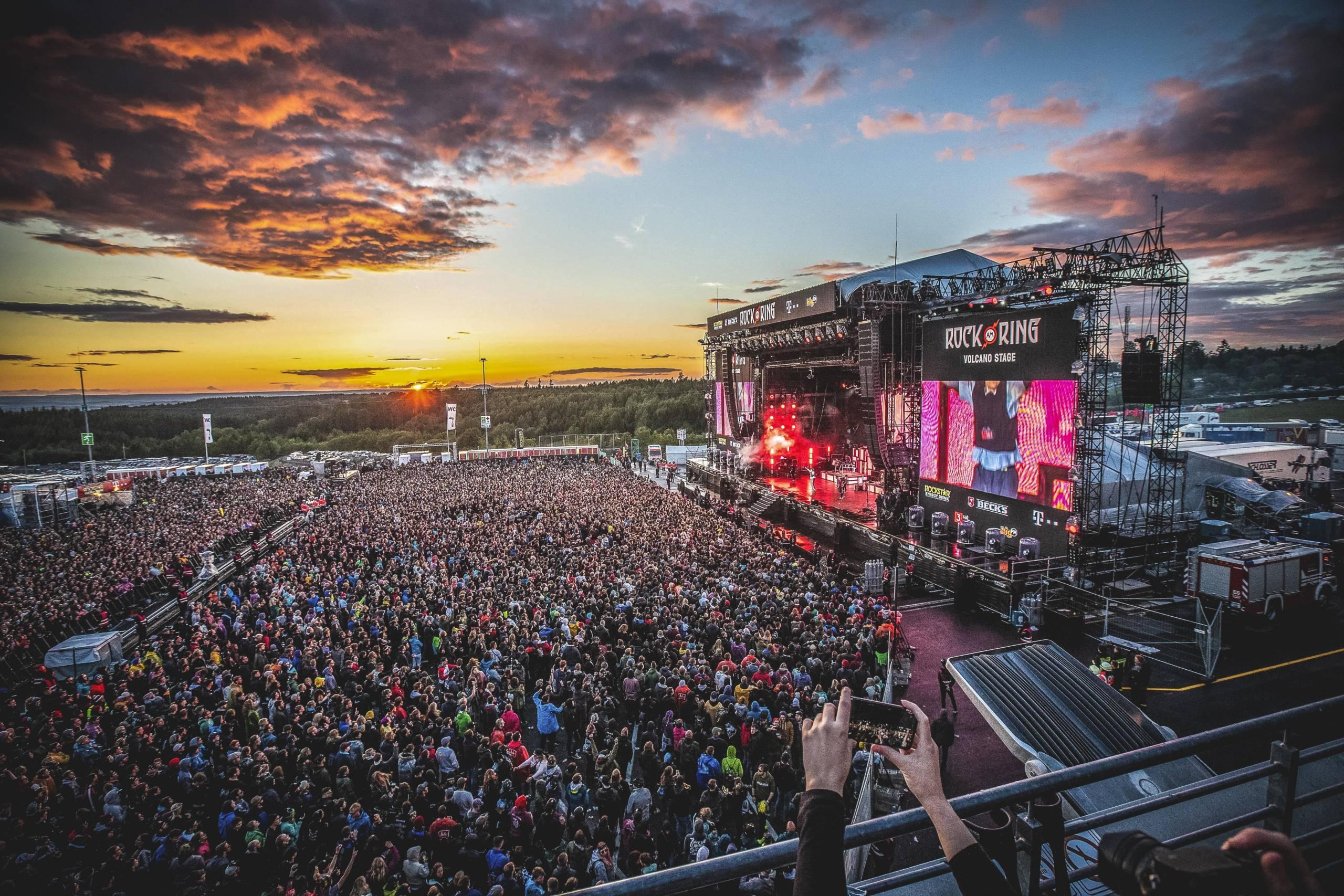 18+ Rock am Ring und Rock im Park Green Day, Offspring, Volbeat – Die ... Bilder
