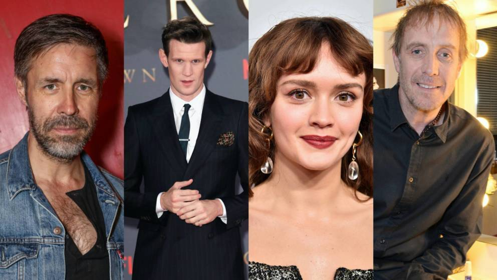 Ein Teil des Casts: Paddy Considine, Matt Smith, Olivia Cooke, Rhys Ifans.