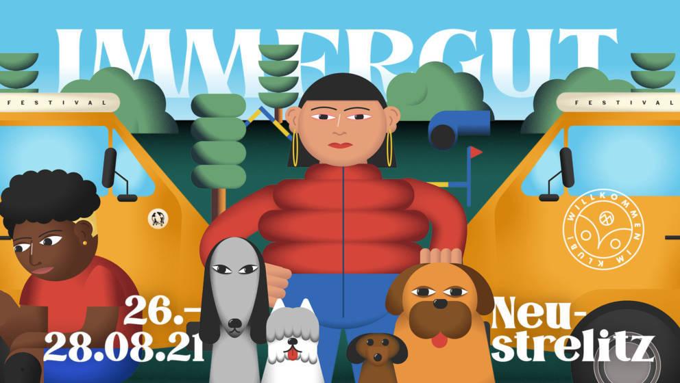 Vom 26. bis 28. August findet das diesjährige Immergut Festival in Neustrelitz statt.