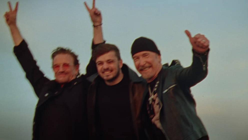 Bono, The Edge und Martin Garrix